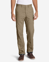 Eddie Bauer Men's Flannel-Lined Cargo Pants