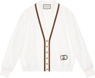 Gucci Technical jersey cardigan