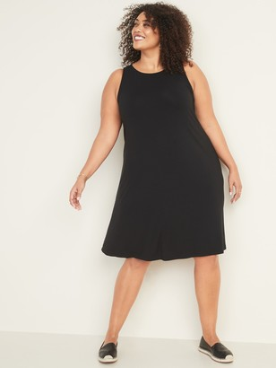 Old Navy Sleeveless Plus-Size Jersey Swing Dress