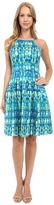 Calvin Klein Halter Neck Fit & Flare Dress CD6M2B6D