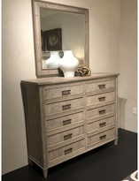 Stanley Furniture Willow 10 Drawer Double Dresser Color: Burlap
