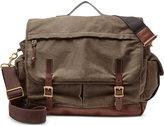 Fossil Men's Defender Top-Handle Messenger Bag