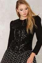 Saint Laurent Vintage Sequin Cardigan