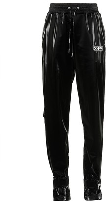 Off-White Velvet Nylon Pants