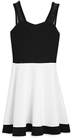 Sally Miller Girls' Color Block Flared Dress - Big Kid