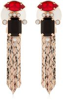 Mawi Deco Lux Fringed Earrings