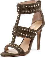 Wanted Salento Khaki Suede/Gold Studs