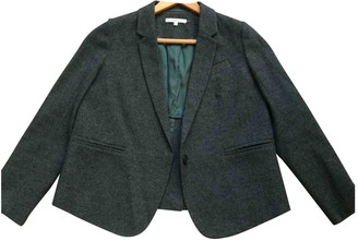 Carven Green Wool Jackets
