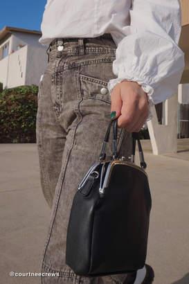 Urban Outfitters Sammi Double Kiss Lock Crossbody Bag