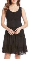 Karen Kane Women's 'Tara' Tiered Lace A-Line Dress
