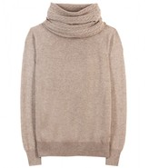 Loro Piana CORINNE CASHMERE PULLOVER WITH OPTIONAL SNOOD