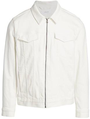 J Brand Antickus Zip-Front Jean Jacket