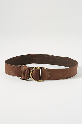 Anthropologie Tonya Double O-Ring Belt By in Beige Size 1 X