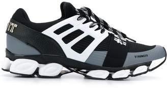 Plein Sport colour blocked low top sneakers