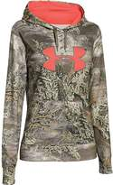Under Armour Women's UA Armour Fleece Camo Big Logo Hoodie Real Tree Max