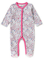 Jessica Simpson Baby Girls Newborn-9 Months Floral-Printed Footed Coverall
