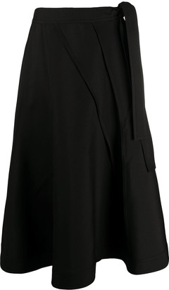 Jil Sander Full Mid-Length Skirt