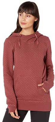 Roxy Dipsy Hoodie (Red Oxblood) Women's Sweatshirt