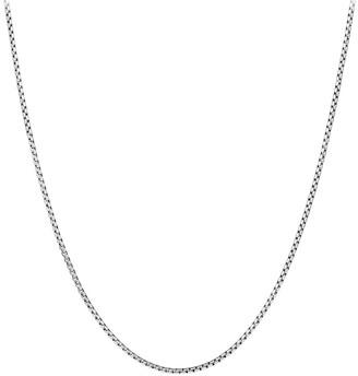 David Yurman Sterling Silver Chain Necklace