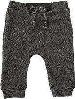 LAmade Kids Boyfriend Pants (Toddler/Kid) - 2 Tone Black-18-24 Months