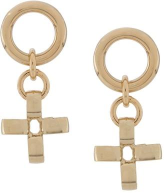 Laura Lombardi Fiore cross earrings