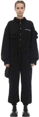 Natasha Zinko Heavy Cotton Jersey Jumpsuit