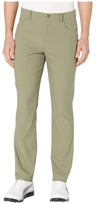 Puma Golf Jackpot Five-Pocket Pants Black) Men's Casual Pants
