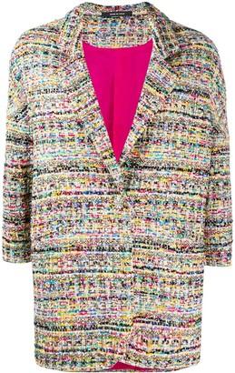 Tagliatore Bruna tweed style jacket