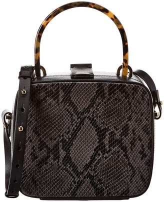 Nico Giani Tunilla Mini Python-Embossed Leather Box Bag
