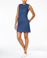 Calvin Klein Jeans Printed Denim Shift Dress
