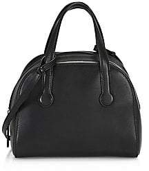 The Row Women's Sporty Bowler Leather Bag