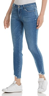 Paige Verdugo Skinny Jeans in North Star Distressed