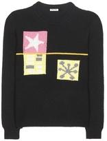 Miu Miu Knitted cashmere sweater