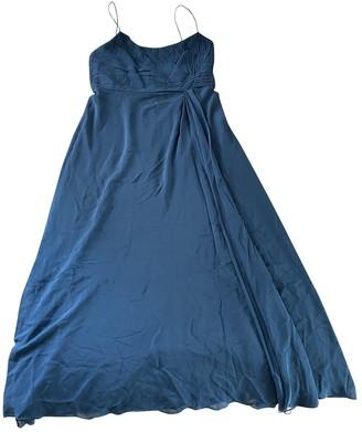 Ann Taylor Blue Silk Dress for Women
