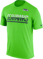Nike Men's Seattle Seahawks NFL Practice T-Shirt