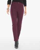 Chico's Faux-Suede Knit Pants in Monrovia