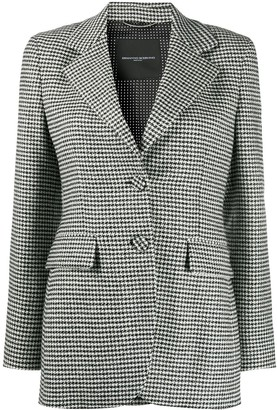 Ermanno Scervino Checked Tailored Blazer