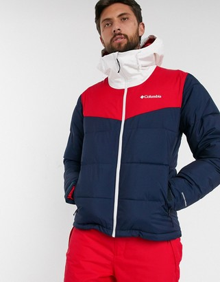 Columbia Iceline Ridge jacket in navy