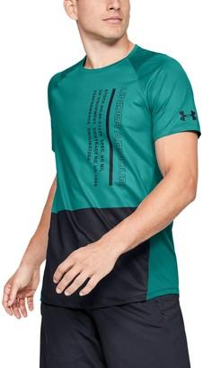 Under Armour Men's UA MK-1 Colorblock Short Sleeve
