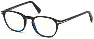 Tom Ford Blue Block Square Acetate Optical Frames