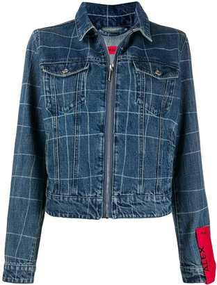 HUGO BOSS Zipped Denim Jacket