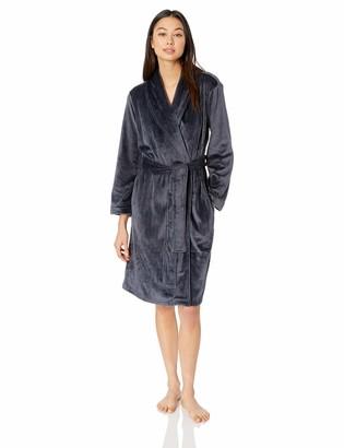 N Natori Women's Solid Velour Robe