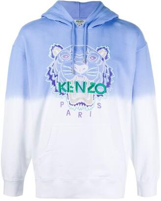Kenzo Tiger gradient hoodie