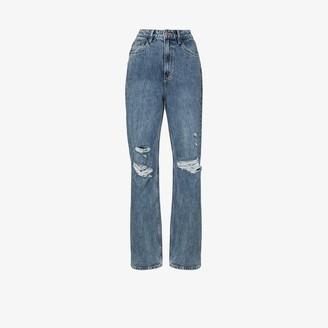Ksubi Playback Vibez Trashed ripped jeans