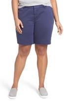 Sejour Plus Size Women's Bermuda Shorts