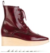 Stella McCartney 'Elyse' brogue ankle boots