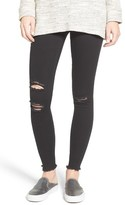 Hue Women's Ripped Denim Leggings