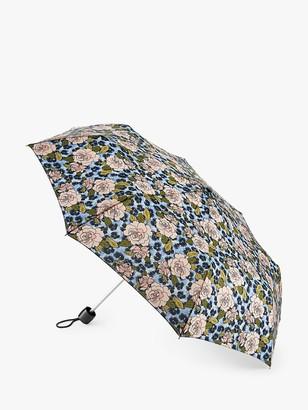 Fulton Minilite Rose and Animal Print Umbrella, Multi