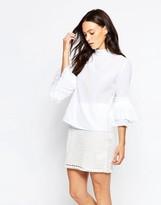 Minimum Tinna Bell Sleeve Blouse
