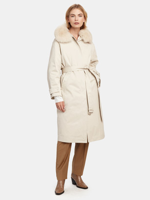 More Than Yesterday Cotton Trench Coat